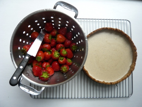 strawberries+tart