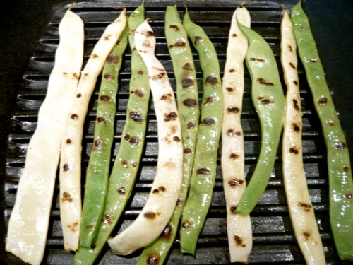 grilling romano beans