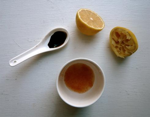 whole leaf stevia & lemon drink