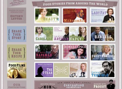 poetry of food contributors